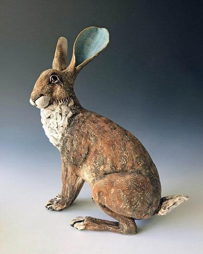 Gin Durham - Sitting Hare