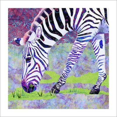 Katy Rundle - Grazing Zebra