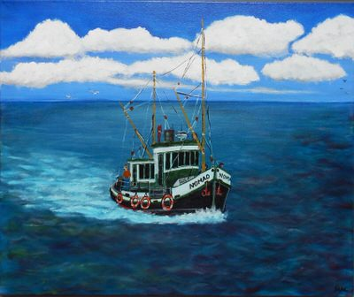 Mike Coggins - Nomad - Fishing Boat