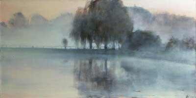Alan Perriman - Thames at Dawn