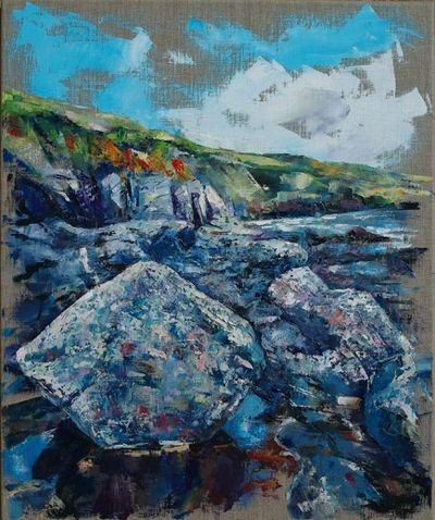 Amanda Bates - Prussia Cove Cliffs