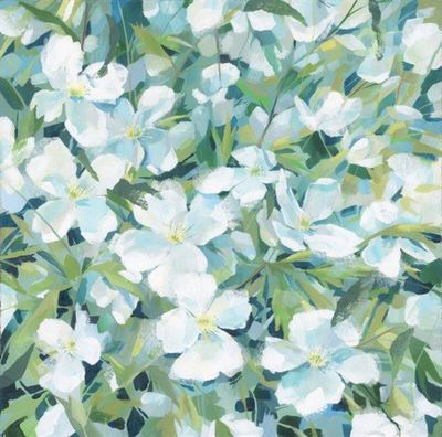 Claire Henley - Clematis in May