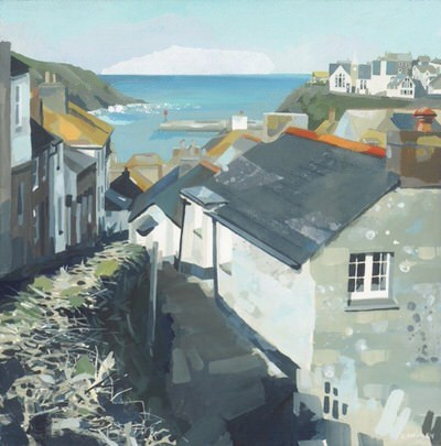 Claire Henley - Down Church Hill, Port Isaac
