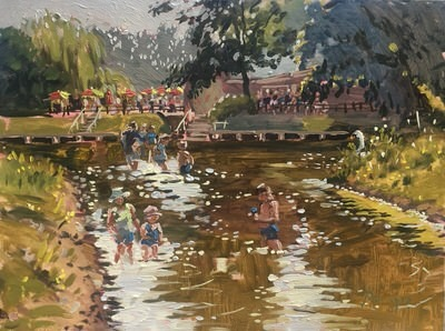Emma Perring - Bank Holiday on the Banks of the Stour