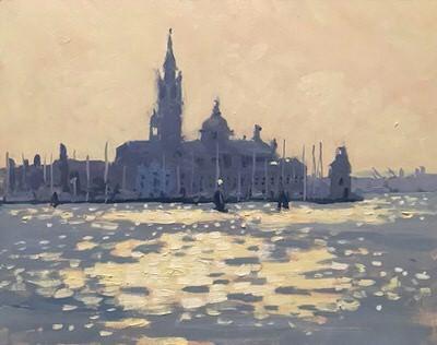 Emma Perring - Sun down San Giorgio Maggiore