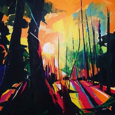 Fiona Pearce - Setting Sun