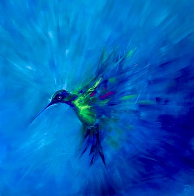 Karen Burling Art - Feather Beats