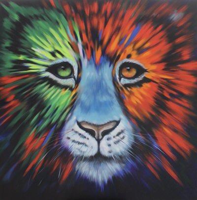Karen Burling Art - Psychedelic Fur