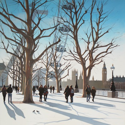 The Art Agency - December Morning, South Bank Jo Quigley