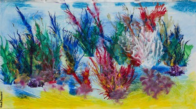 Alison G Saunders - Rainbow Coral