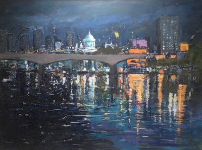 Jim Woodman Fine Art - City Lights