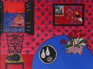 Jim Woodman Fine Art - Red Harmonies