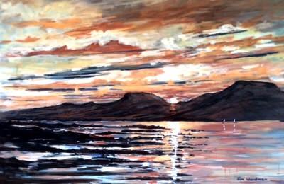 Jim Woodman - MacLeods Tables, Sky