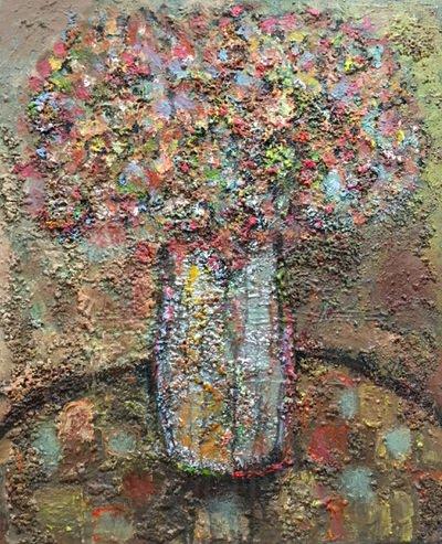 Rawan Al Adwan - Vase of Flowers