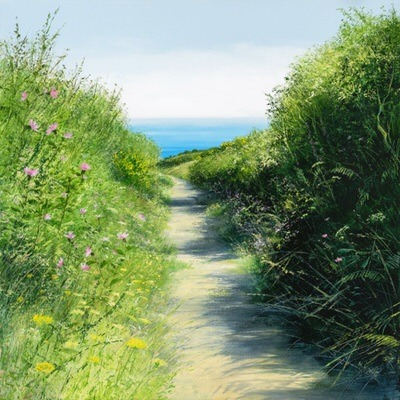 The Wey Gallery - Cloudless Day, Heather Howe