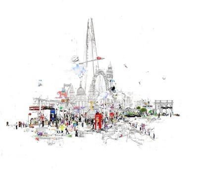 The Wey Gallery - Crazy Town, Laura Jordan