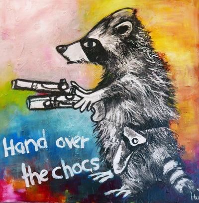 Caroline Hulse FRSA - Hand Over The Chocs