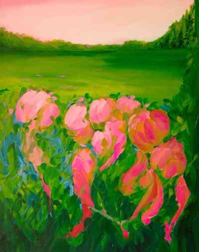 Jezel Art - PINK BLOSSOMS