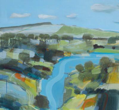 Magpie Contemporary Art by Fiona Millais