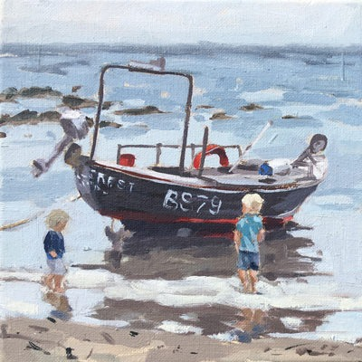 Fiona Carver - Investigating the Boat